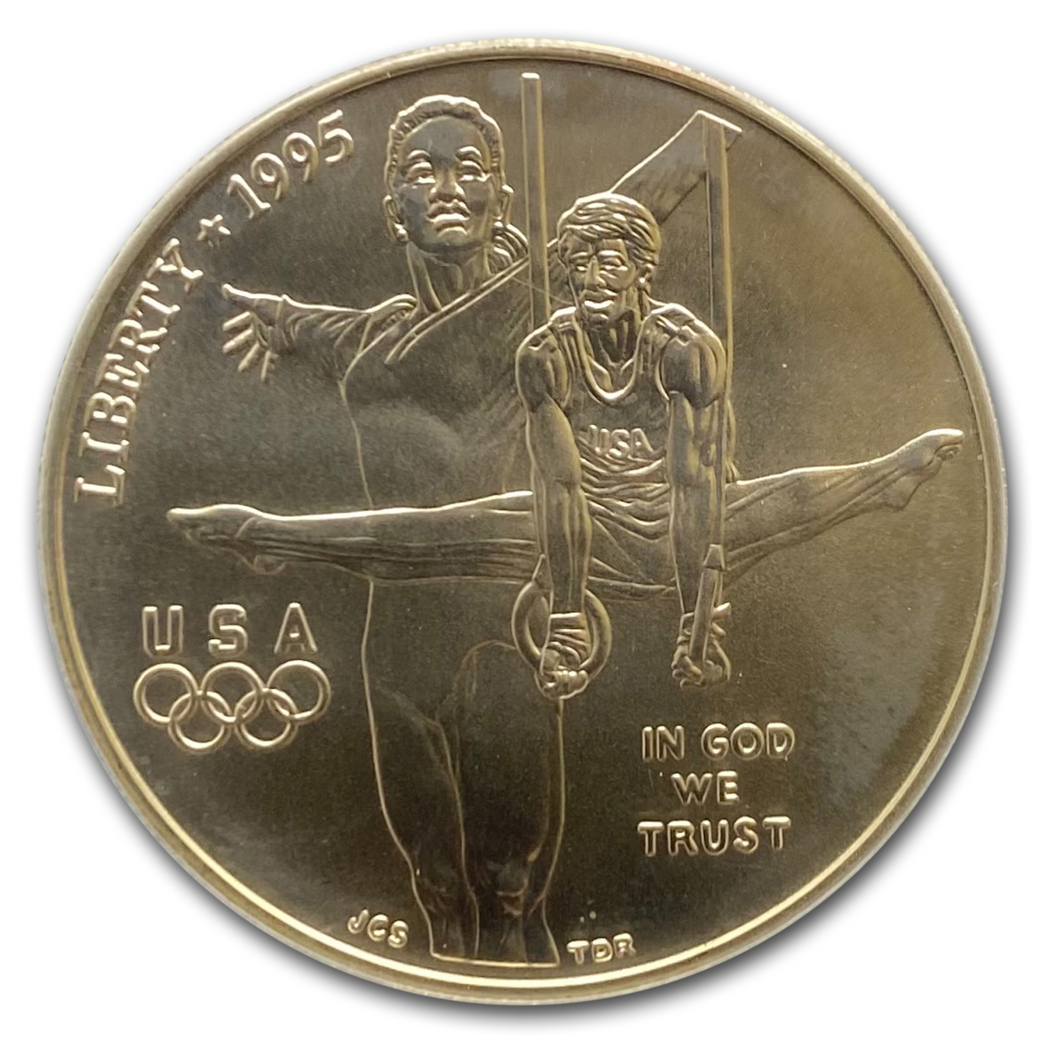 1995-D Olympic Gymnast $1 Silver Commemorative - MS-69 PCGS